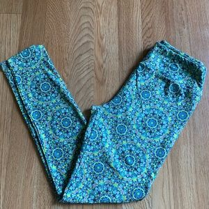 Kaleidoscope lularoe OS leggings